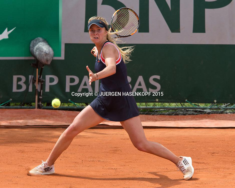 Elina Svitolina (UKR)<br /> <br /> Tennis - French Open 2015 - Grand Slam ITF / ATP / WTA -  Roland Garros - Paris -  - France  - 29 May 2015.