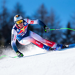 Nils Allegre of France at the Ski Alpin: 80. Hahnenkamm Race 2020 - Audi FIS Alpine Ski World Cup - Men's Downhill Training at the Streif on January 22, 2020 in Kitzbuehel, AUSTRIA. (Photo by Horst Ettensberger/ESPA/CSM/Sipa USA) - Kitzbuhel (Autriche)