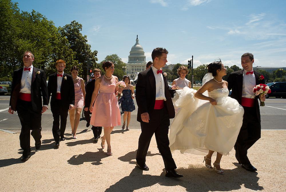 Dave and Wu Fan's Wedding. Washington DC. May 23, 2009.