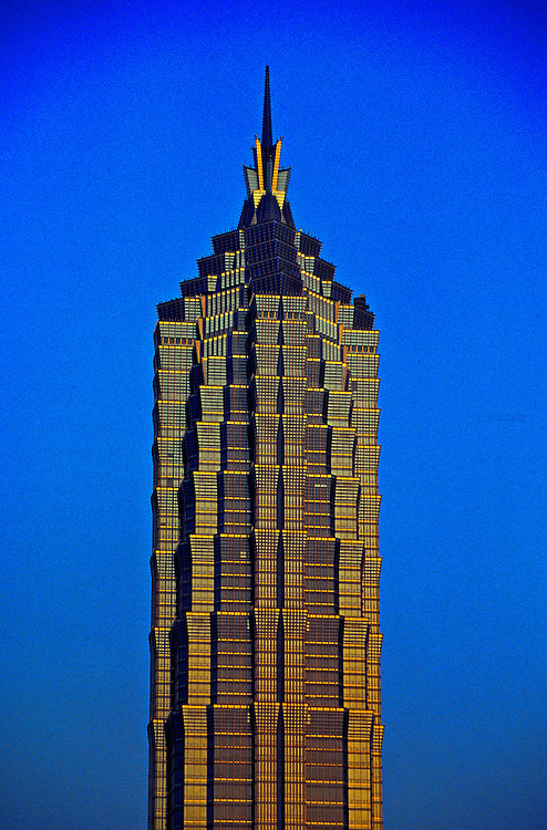 Jin Mao Building, Pudong, Shanghai, China