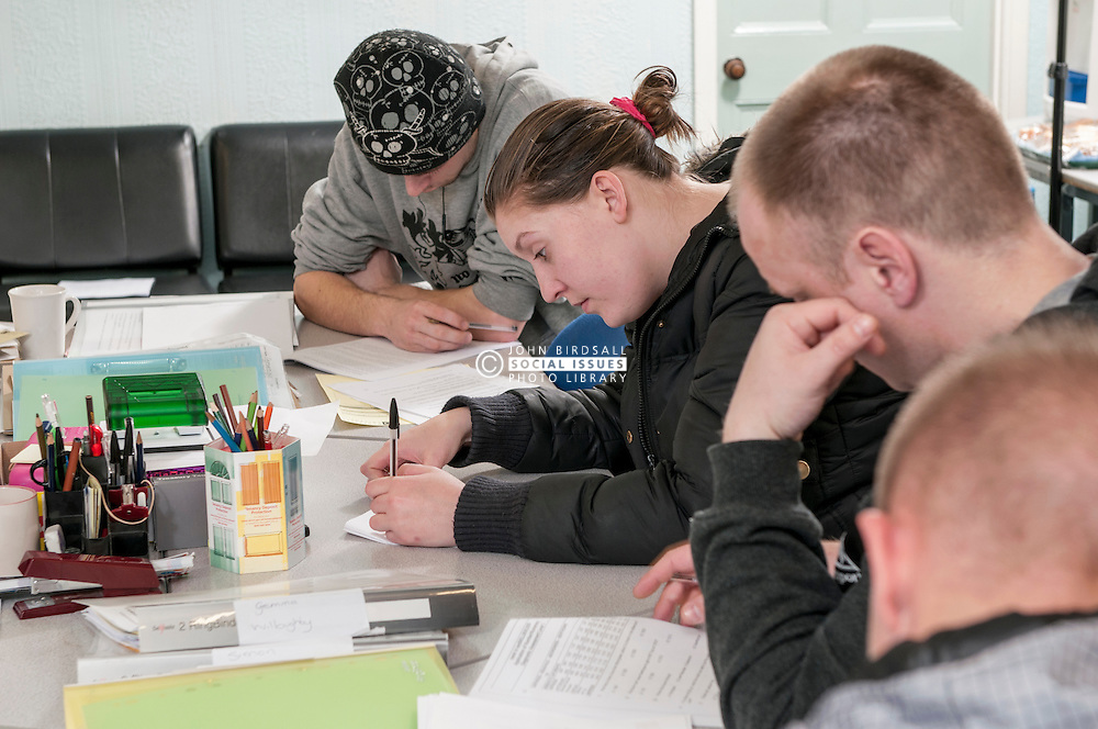Basic skills course for offenders, UK