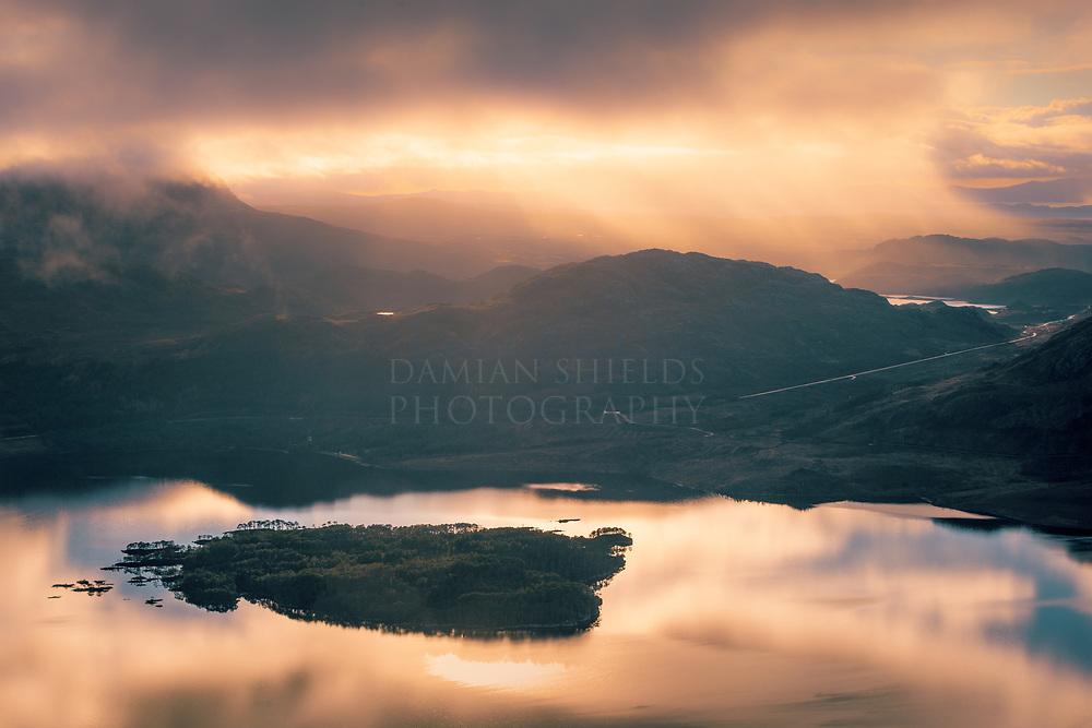 Eilean Ruairidh Mòr, Loch Maree, Torridon Torridon