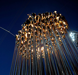 04.08.2012 London, England, London 2012 Olympic Games, Olympic Flame at the Olympic Stadium.© pixathlon