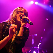 WASHINGTON, DC - October 22nd, 2012 - Grace Potter of Grace Potter and the Nocturnals performs during the first of four concerts booked this week at the 9:30 Club in Washington, D.C. The band released their fourth album, The Lion the Beast the Beat, in June. (Photo by Kyle Gustafson/For The Washington Post)