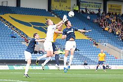 Southend United's Daniel Bentley gathers the ball - Photo mandatory by-line: Nigel Pitts-Drake/JMP - Tel: Mobile: 07966 386802 05/10/2013 - SPORT - FOOTBALL - Kassam Stadium - Oxford - Oxford United v Southend United - Sky Bet League 2