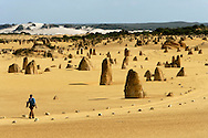 "Namburg National Park, is also know by ""The Pinnacles Desert"" because of the thousands of sandstone pinnacles formed here due to erosion."