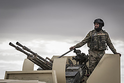 November 2, 2016 - Nineveh Governorate, Iraq - Iraqi army soldiers enter the outskirts of Mosul.  (Credit Image: © Bertalan Feher via ZUMA Wire)