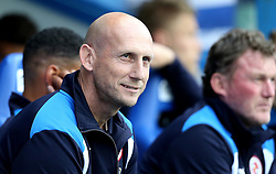Jaap Stam manager of Reading smiles before the preseason friendly against Bournemouth ahead of the Sky Bet Championship Season - Mandatory by-line: Robbie Stephenson/JMP - 29/07/2016 - FOOTBALL - Madejski Stadium - Reading, England - Reading v AFC Bournemouth - Pre-season friendly