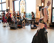 The Lansing Unionized Vaudeville Spectacle performs at the Grand Rapids Art Museum for the NASAA Assembly 2016; National Assembly of State Arts Agencies