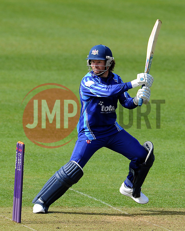 Gloucestershire's Hamish Marshall - Photo mandatory by-line: Harry Trump/JMP - Mobile: 07966 386802 - 30/03/15 - SPORT - CRICKET - Pre Season Fixture - T20 - Somerset v Gloucestershire - The County Ground, Somerset, England.