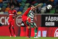 Guedes / Joao Mario - 09.03.2015 - Sporting / Penafiel - Liga Sagres<br /> Photo : Carlos Rodrigues / Icon Sport