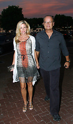 NEILL J. SCHUTZER/©2009 RAMEY PHOTO 310-828-3445<br /> <br /> EXCLUSIVE!<br /> <br /> Malibu, California, August 28, 2009<br /> <br /> Kelsey Grammer and wife Camille arrive at Nobu during a beautiful California dusk.<br /> <br /> NJSZO09 (Mega Agency TagID: MEGAR63938_9.jpg) [Photo via Mega Agency]