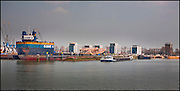 Rotterdam Harbor on April 10, 2008 in Rotterdam, The Netherlands. (photo by Michel de Groot)