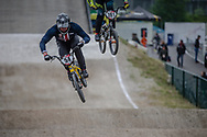 #54 (SEBESTA Tanner) USA at Round 6 of the 2018 UCI BMX Superscross World Cup in Zolder, Belgium