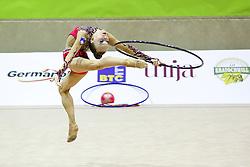 Aleksandra Podgorsek of Slovenia competes during 28th MTM - International tournament in rhythmic gymnastics Ljubljana, on April 4, 2015 in Arena Krim, Ljubljana, Slovenia. Photo by Matic Klansek Velej / Sportida