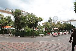 10.01.2012, Marbella, Spanien, ESP, Marbella im Focus, im Bild Der Orangenplatz (Plaza de Naranjas) in der Altstadt von Marbella, Andalusien, Spanien. EXPA Pictures © 2012, PhotoCredit: EXPA/ Eibner/ Andre Latendorf..***** ATTENTION - OUT OF GER *****