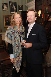 A party to promote the exclusive Puntacana Resort & Club - the Caribbean's Premier Golf & Beach Resort Destination, was held at Spencer House, London on 13th May 2010.<br /> <br /> Picture shows:- CHRISTOPHE & VALERIE JUNGELS-WINKLER