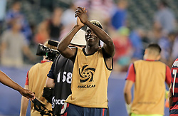 July 19, 2017 - Philadelphia, PA, USA - Philadelphia, PA - Wednesday July 19, 2017: Gyasi Zardes during a 2017 Gold Cup match between the men's national teams of the United States (USA) and El Salvador (SLV) at Lincoln Financial Field. (Credit Image: © John Dorton/ISIPhotos via ZUMA Wire)