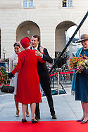 04.10.2016. Copenhagen, Denmark.  <br /> Queen Margrethe, Princess Marie, Prince Joachim, Princess Benedikte attended the opening session of the Danish Parliament (Folketinget) at Christiansborg Palace in Copenhagen, Denmark.<br /> Photo: &copy; Ricardo Ramirez