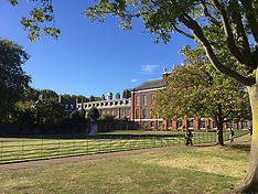 Kensington Palace Renovations - 10 Oct 2018