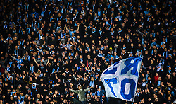 February 14, 2019 - MalmÅ, Sweden - 190214 Supporters of MalmÅ¡ FF during the Europa league match between MalmÅ¡ FF and Chelsea on February 14, 2019 in MalmÅ¡..Photo: Petter Arvidson / BILDBYRN / kod PA / 92225 (Credit Image: © Petter Arvidson/Bildbyran via ZUMA Press)