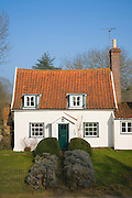 Small country cottage at Cretingham, Suffolk, England