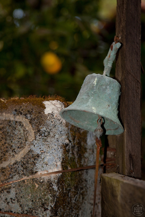 """Bell in San Sebastian, Mexico"" - This old bell was photographed in the small mountain town of San Sebastian, Mexico."