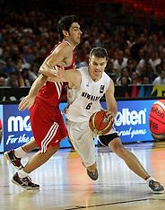 Spain-Basketball, FIBA World Cup, New Zealand v Turkey