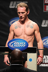 Atlantic City, NJ - June 21, 2012: Gray Maynard at the weigh-ins for UFC on FX 4 at Ovation Hall at Revel Resort & Casino in Atlantic City, New Jersey.