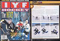 1999: IYF In Your Face hockey magazine. Instructional tearsheet.