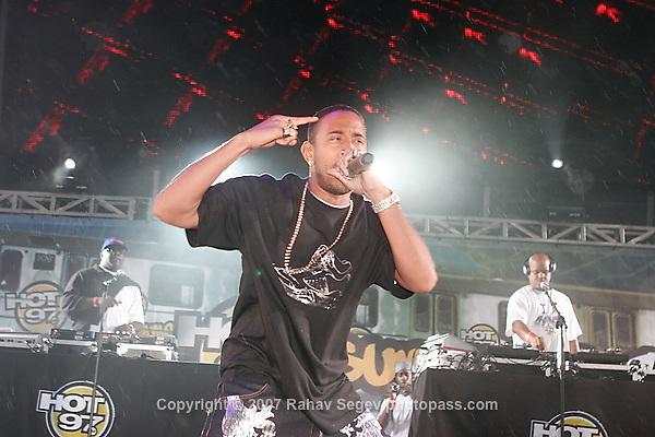 "Chris ""Ludacris"" Bridges performing at Giant's Stadium in East Rutherford New Jersey on June 3, 2007 during Hot 97's Summerjam 2007...© Rahav Segev/ Retna ltd."