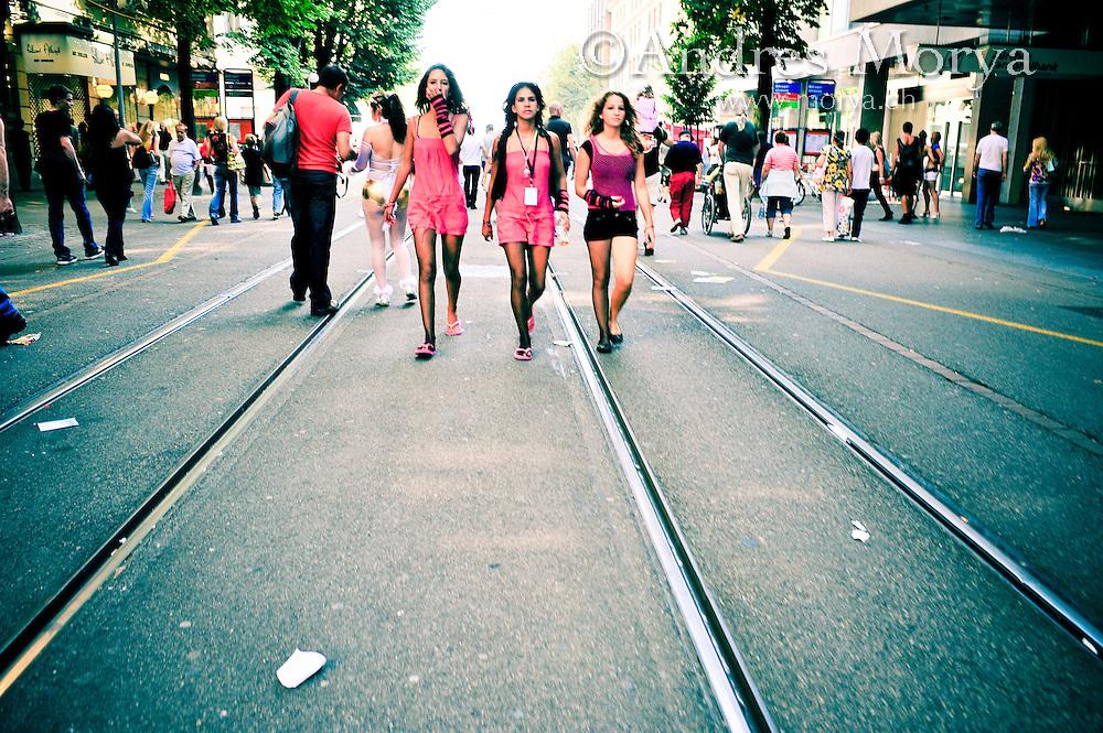 Street Parade Zürich 2008, Switzerland Image by Andres Morya