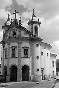 Nossa Senhora do Rosario dos Homens Pretos, Ouro Preto, Brazil