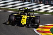 August 29-Sept, 2019: Belgium Grand Prix. Nico Hulkenberg (GER), Renault Sport Formula One Team, R.S.19