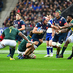 Kevin Gourdon of France during the test match between France and South Africa at Stade de France on November 18, 2017 in Paris, France. (Photo by Dave Winter/Icon Sport)