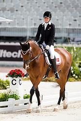 Caroline Cecilie Nielsen, (DEN), Leon - Individual Test Grade II Para Dressage - Alltech FEI World Equestrian Games™ 2014 - Normandy, France.<br /> © Hippo Foto Team - Jon Stroud <br /> 25/06/14