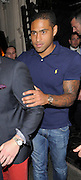 25.JUNE.2012. LONDON<br /> <br /> ENGLAND FOOTBALLER GLEN JOHNSON LEAVING MAHIKI NIGHT CLUB AT 3AM.<br /> <br /> BYLINE: EDBIMAGEARCHIVE.CO.UK<br /> <br /> *THIS IMAGE IS STRICTLY FOR UK NEWSPAPERS AND MAGAZINES ONLY*<br /> *FOR WORLD WIDE SALES AND WEB USE PLEASE CONTACT EDBIMAGEARCHIVE - 0208 954 5968*