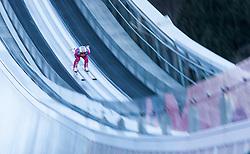 31.12.2016, Olympiaschanze, Garmisch Partenkirchen, GER, FIS Weltcup Ski Sprung, Vierschanzentournee, Garmisch Partenkirchen, Training, im Bild Tom Hilde (NOR) // Tom Hilde of Norway during his Practice Jump for the Four Hills Tournament of FIS Ski Jumping World Cup at the Olympiaschanze in Garmisch Partenkirchen, Germany on 2016/12/31. EXPA Pictures © 2016, PhotoCredit: EXPA/ Jakob Gruber