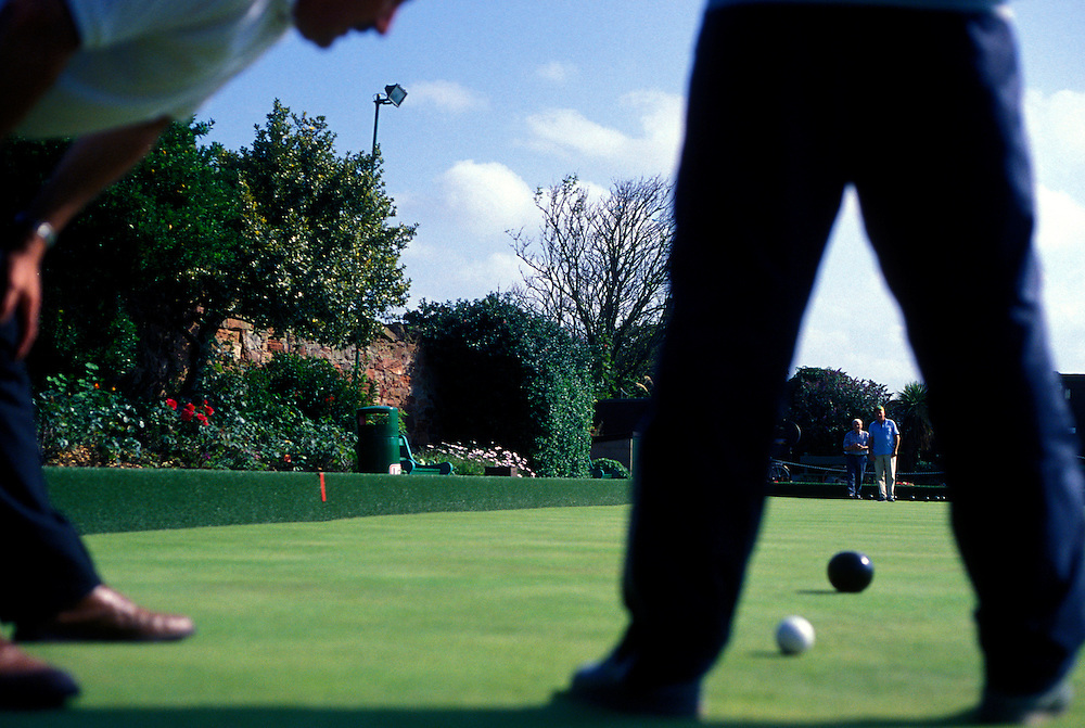 Lawn Bowling, Dunbar Scotland.