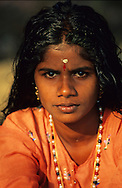 Young girl from backwaters.