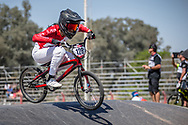 #128 (HAYAKAWA Yui) JPN  at Round 9 of the 2019 UCI BMX Supercross World Cup in Santiago del Estero, Argentina