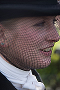 TABBY PREST, Side-Saddle Dash, Southern Spinal Injuries Trust charity Day. Wincanotn. 25 October 2015.
