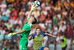 Lovre Kalincic of Hajduk during First Leg football match between FC Luka Koper and HNK Hajduk Split (CRO) in Second qualifying round of UEFA Europa League, on July 16, 2015 in Stadium Bonifika, Koper, Slovenia. Photo by Vid Ponikvar / Sportida