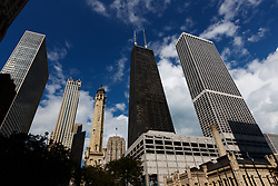 The John Hancock centre building, Chicago
