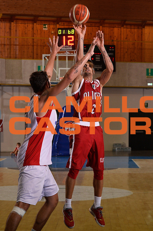 Andrea Cinciarini <br /> EA7 Emporio Armani Olimpia Milano - Legnano Knights <br /> Lega Basket Serie A 2016/2017<br /> Bormio 28/08/2016<br /> Foto Ciamillo-Castoria