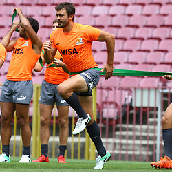 General views during the Jaguares Captain Run at the DHL Newlands Stadium Cape Town South Africa. 16th February 2018 (Photo by Steve Haag Jaguares)