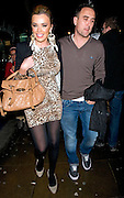 04.JANUARY.2012. LONDON<br /> <br /> MARIA FOWLER AND LEE CROFT AT GHOST THE MUSICAL AT PICCADILLY THEATRE IN LONDON. THEY COUPLE AFTERWARDS WENT FOR A DRINK IN A PUB ON SHAFTESBURY AVENUE.<br /> <br /> BYLINE: EDBIMAGEARCHIVE.COM<br /> <br /> *THIS IMAGE IS STRICTLY FOR UK NEWSPAPERS AND MAGAZINES ONLY*<br /> *FOR WORLD WIDE SALES AND WEB USE PLEASE CONTACT EDBIMAGEARCHIVE - 0208 954 5968*