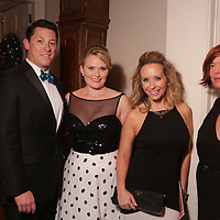 Left to Right, Jonathan Woods, Elle Woods, Rachelle Geach, and Jennifer Chisholm pose for a picture Saturday December 6, 2014 during the 9th Annual Wilmington Fur Ball at the Country Club of Landfall in Wilmington, N.C. (Jason A. Frizzelle)