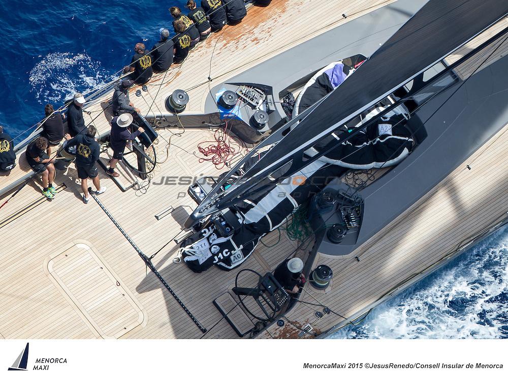 MenorcaMaxi 2015. Wally and Maxi 72 regatta in Menorca, Spain, May 2015. All images ©Jesus Renedo / Consell Insular de Menorca