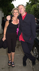 MR & MRS CHRIS TARRANT, he is the TV & radio presenter,<br />  at a party in London on 5th July 2000.OGB 133<br /> © Desmond O'Neill Features:- 020 8971 9600<br />    10 Victoria Mews, London.  SW18 3PY <br /> www.donfeatures.com   photos@donfeatures.com<br /> MINIMUM REPRODUCTION FEE AS AGREED.<br /> PHOTOGRAPH BY DOMINIC O'NEILL